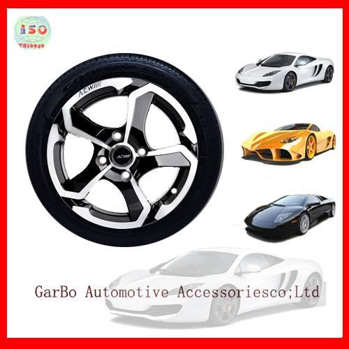 alloy wheel hub for small car toyota honda kia mazda hyundai 4x100 4x114.3  13 14 15 16 17inch