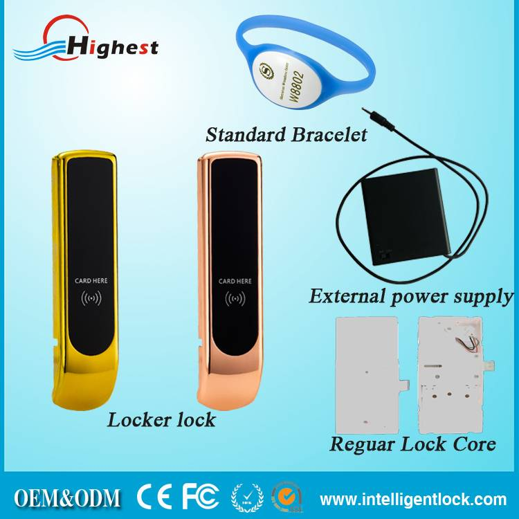 High Quality Electrical locker lock Cabinet Locks With Software
