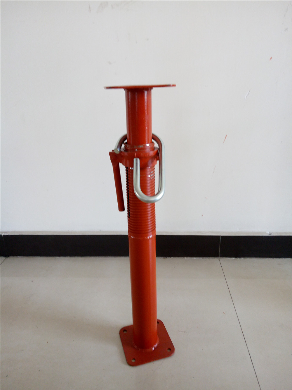Heavy Duty Adjustable Galvanized Steel Shoring Telescopic Prop For Sale