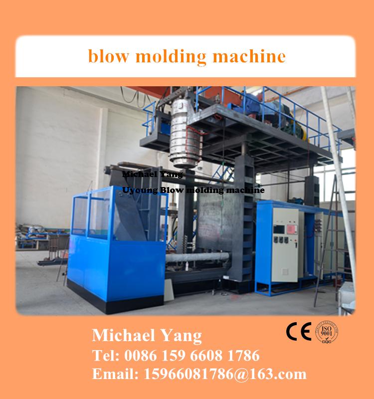 3 layer 1000l blow molding machine