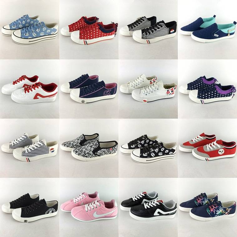 larger quantity stock ! new style fashional style wholesale china women cansual shoes