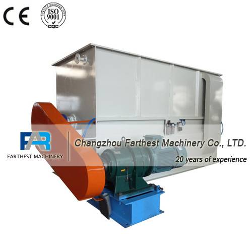 Poultry Feed Horizontal Ribbon Feed Mixer