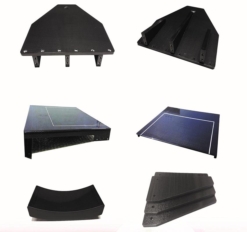 Carbon Fiber Composite Medical Device Plate