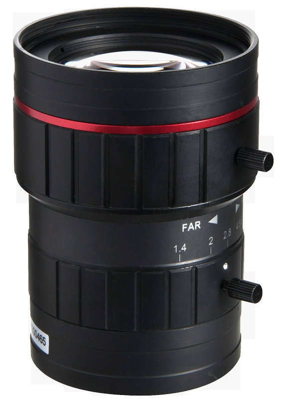 "50mm 1"" 5.0 Megapixel machine vision FA lens distorion 6mm, 8mm, 12mm, 16mm, 25mm, 35mm, 50mm, 75mm"