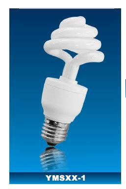 NEW!!Wholesales half spiral CFL energy savig lamp with CE rohs GS 8000h lifespan high light