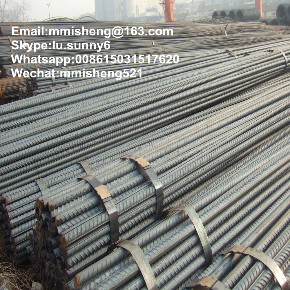 reinfocing steel bars deformed steel rebar iron rods tmt bars