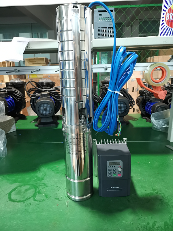 4inch ac submersible solar water motor centrifugal pump 3 hp for deepwell and agriculture in usa