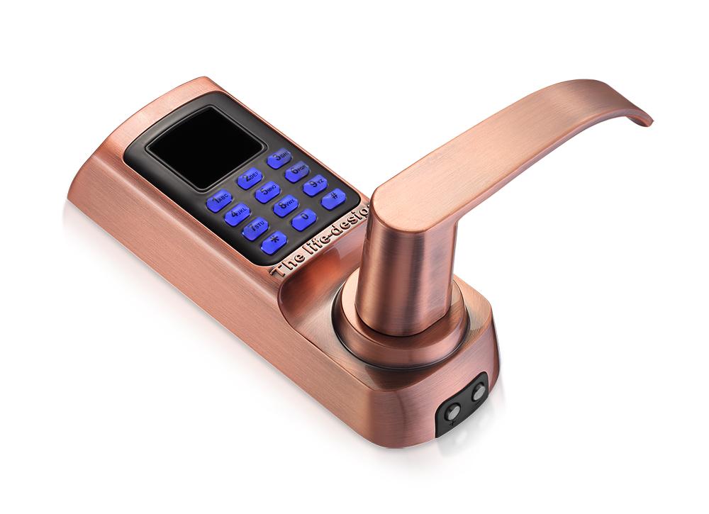 Smart digital electronic RFID combination door lock card door lock
