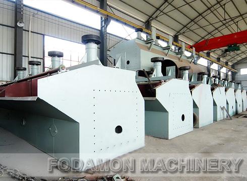 Floatation machine