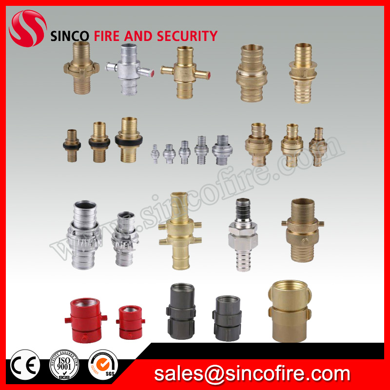 All types of fire hose couplings for fire hose