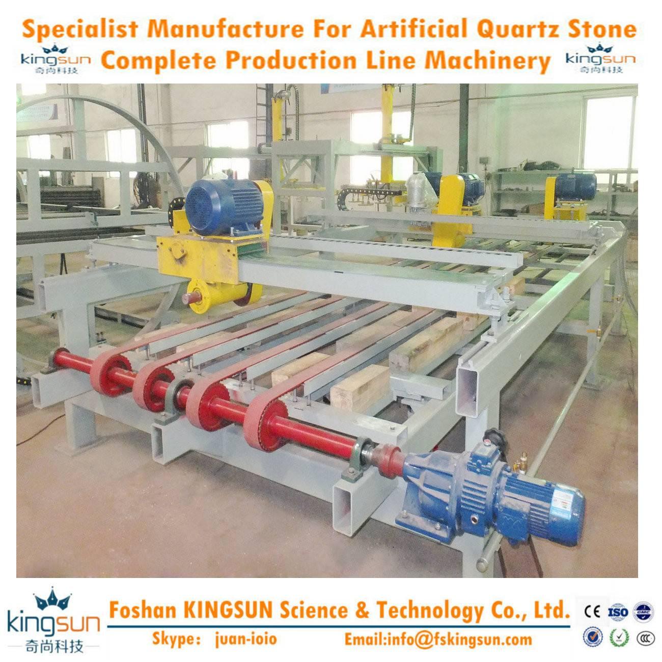 Auto Lengthways and Crosswise Cutting Device/ Quartz Stone Cutting Machine