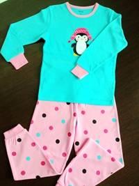 children's penguin pajamas