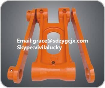 PC220-7 bucket link with part No.206-70-73111, excavator spare parts