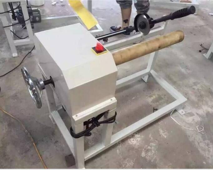 LC-500 manual load plastic and paper core cutting machine/core cutter/paper tuber cutter
