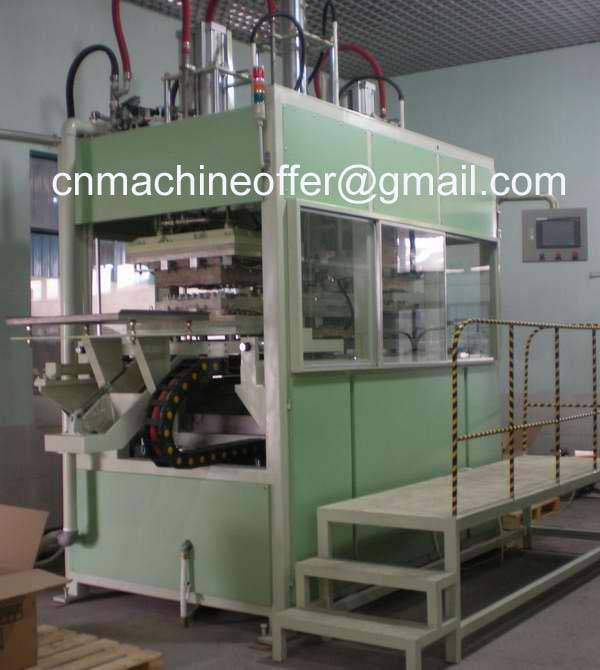 Disposable Tableware Plate/Tray Making Machine