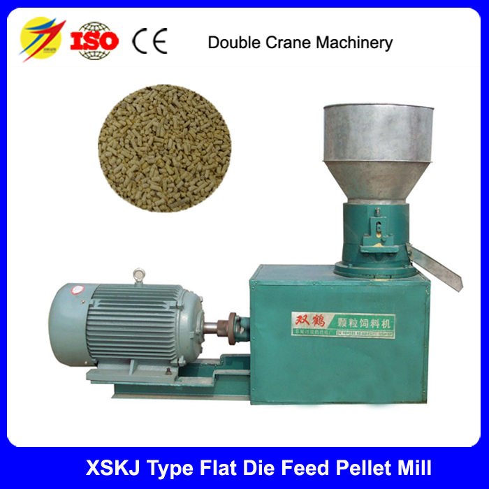 CE approved Flat die chicken feed pellet mill wholesales price