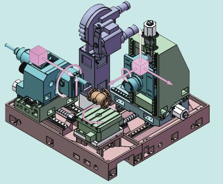 Valve special CNC boring machine