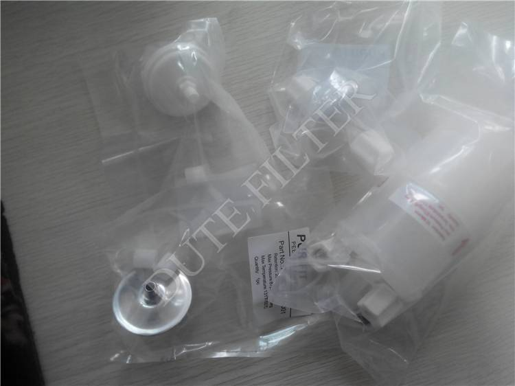 Disc pre-nozzle ink filter with metal housing for Citronix inkjet printer