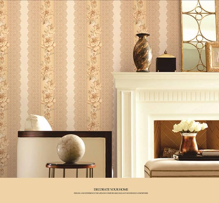 New Fashion PVC deep embossed wallpaper
