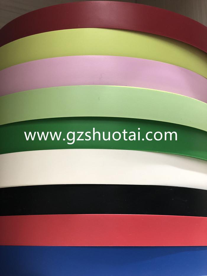 PVC edge banding/edge tape/furniture accessories