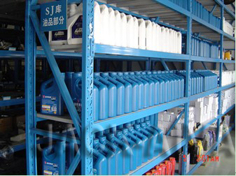 manufacture storage racks making machine