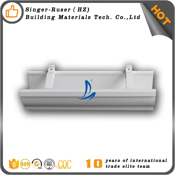 Guangzhou Price PVC Rain Gutter And Downspout