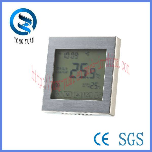 Touch Screen Metal Drawing Panel Room Thermostat