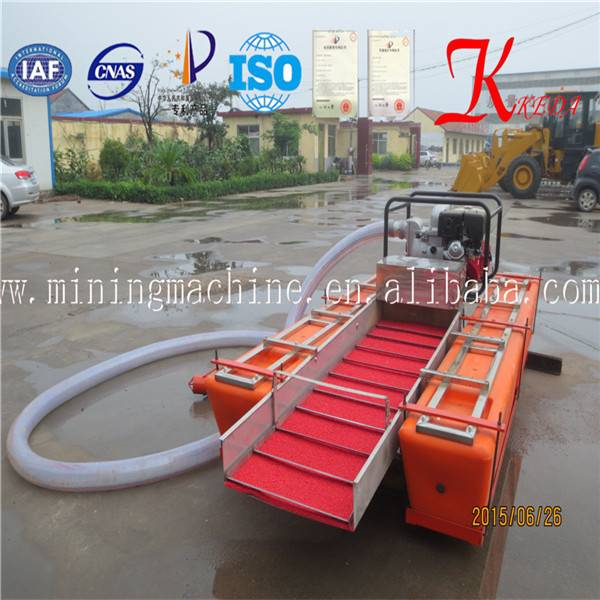 Gasoline Power Type and New Condition gold dredger
