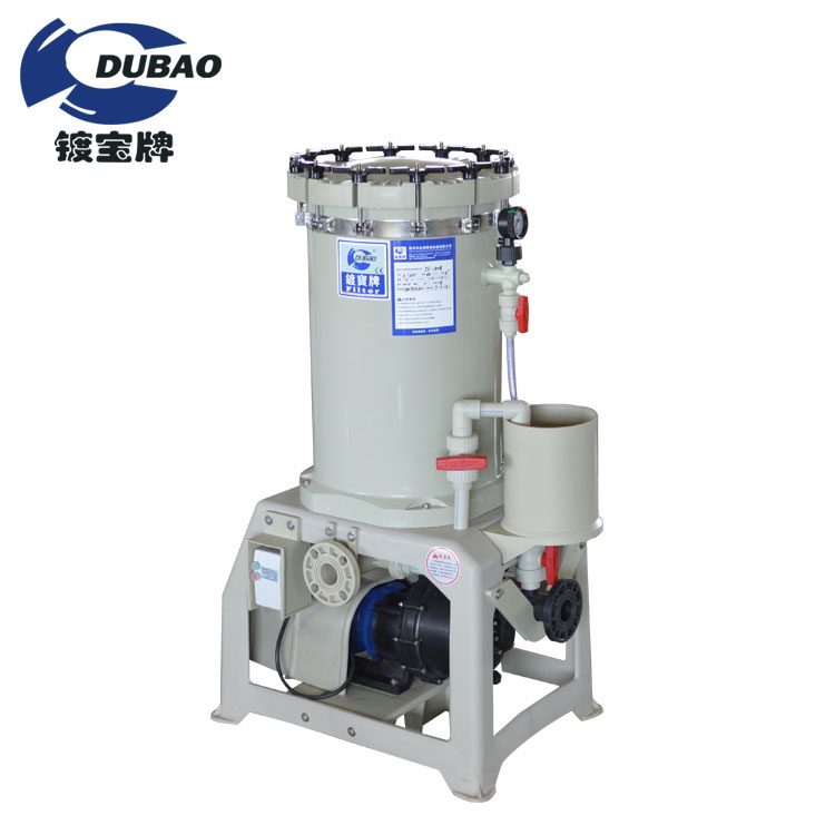 Factory direct sale filter cartridge PP Barrel Electroplating equipment