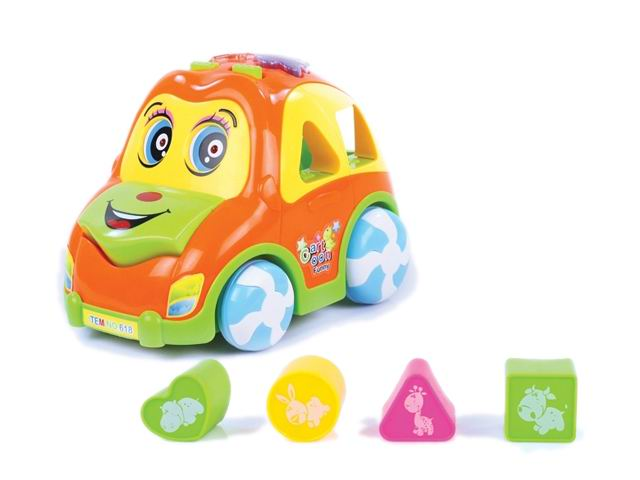 Learning toys blocks toys car with music