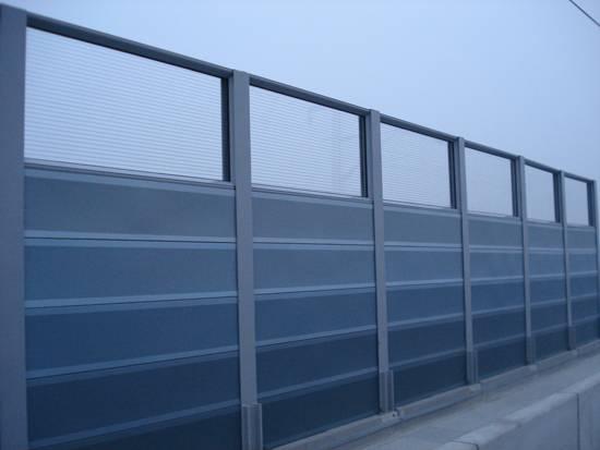 High-speed rail sound-absorbing panels, sound-absorbing panels, a highway sound barrier