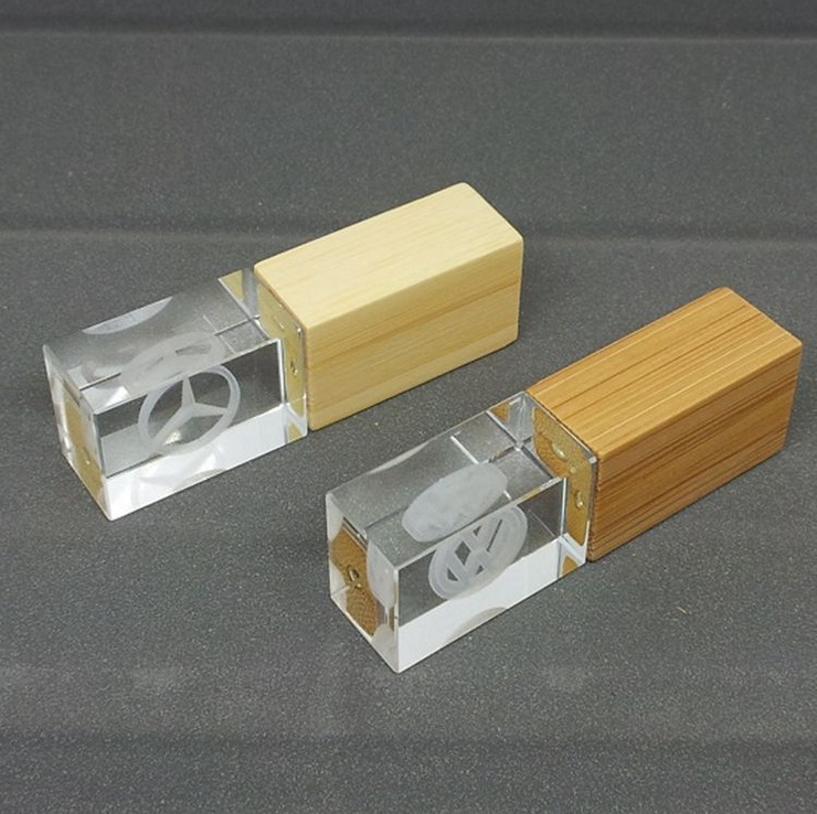 Wooden/Acrylic USB Flash Disk, USB Memory Flash Disk