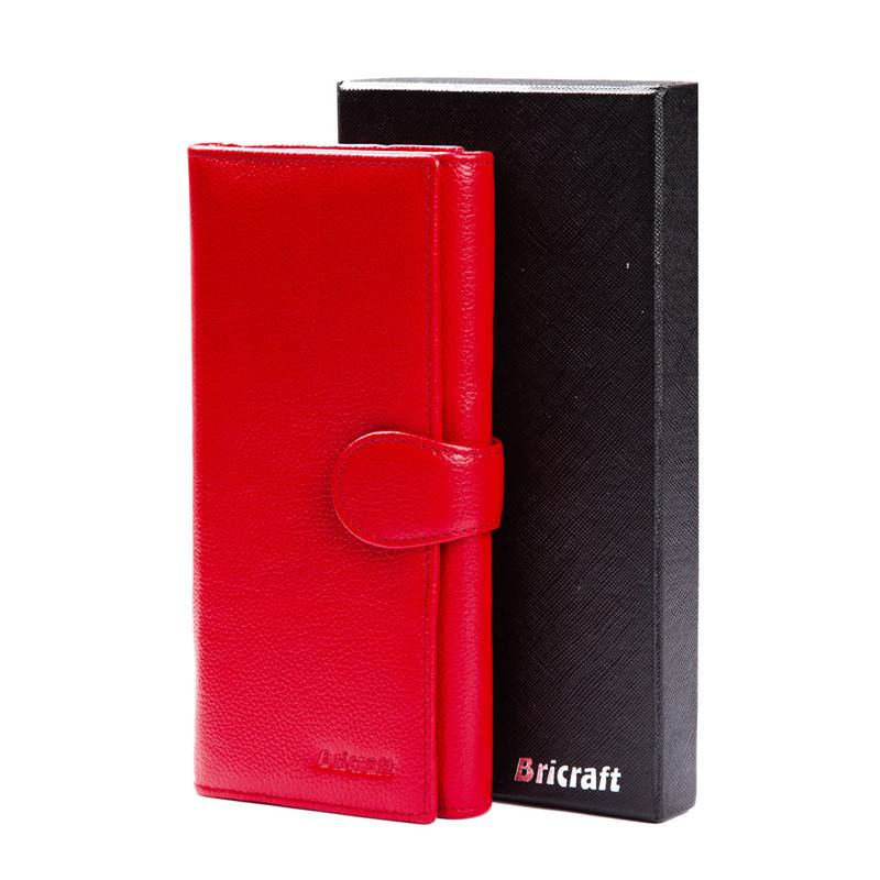 Stylish Credit Card Protector Trifold RFID Blocking Security Wallet Clutch  for Ladies