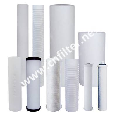 Polypropylene Water Filter Cartridge Grooved