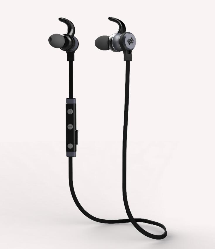 Wireless Metalic bluetooth headphone with microphone