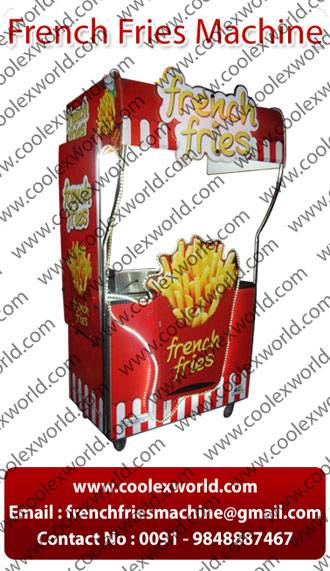 French fries cart