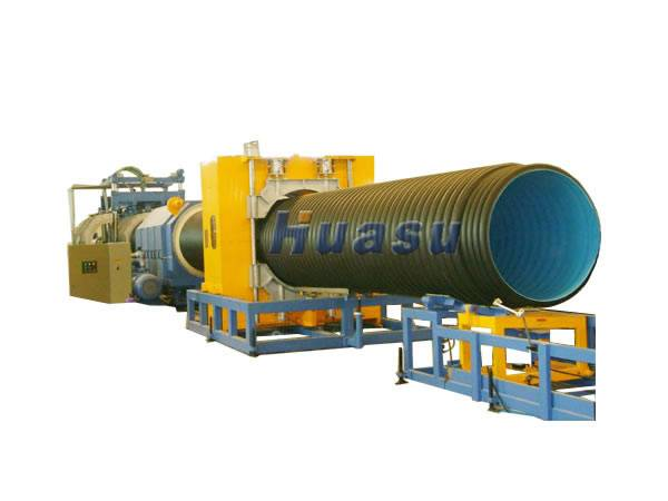 Pipe Making Machine-PE Double Wall Corrugated Pipe Extrusion Line