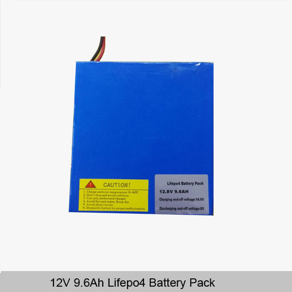 12V 10Ah lithium battery pack deep cycle rechargeable lithium 18650 battery for solar energy storage