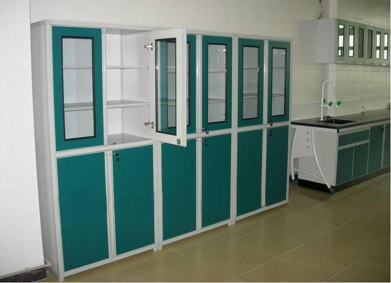 Laboratory chemical storage cabinet