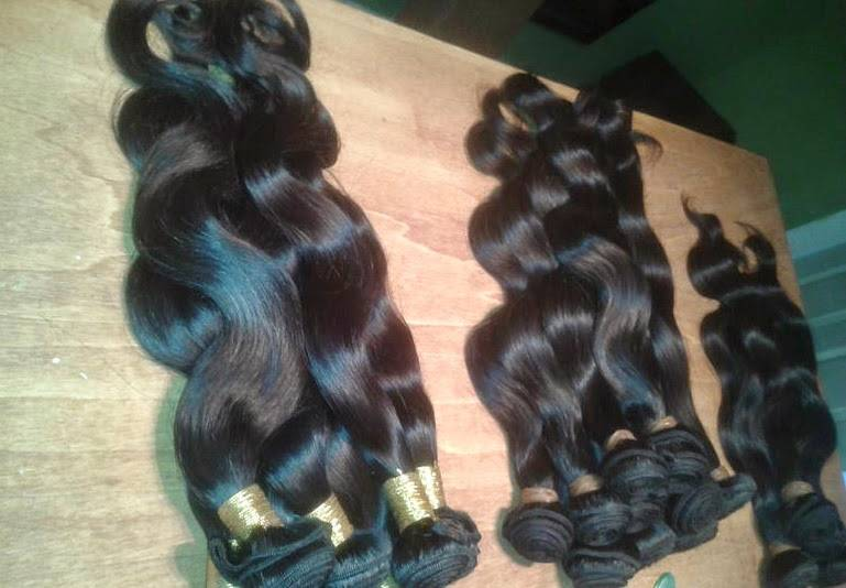 100% unprocessed brazilian hair wholesale
