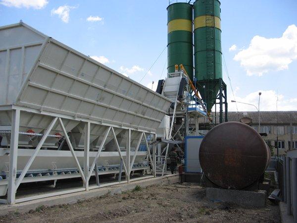 Budget solution for concrete production