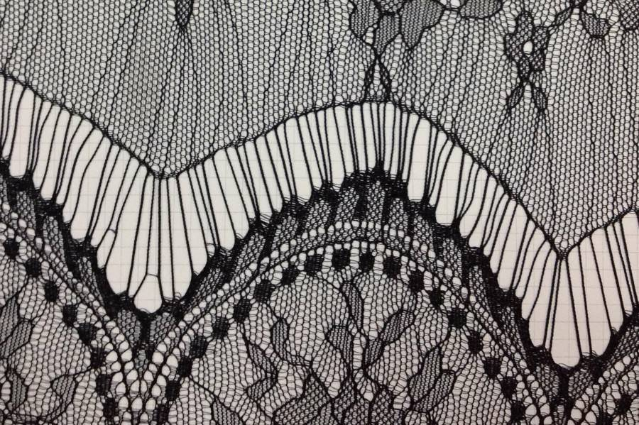 fashional eyelash lace for garment