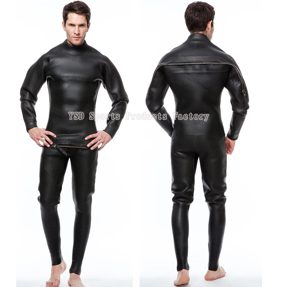 men deep sea diving drysuit