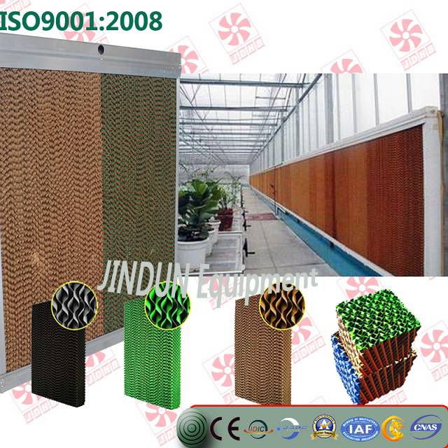 wall mounted Evaporative cooling pad for poultryhouses