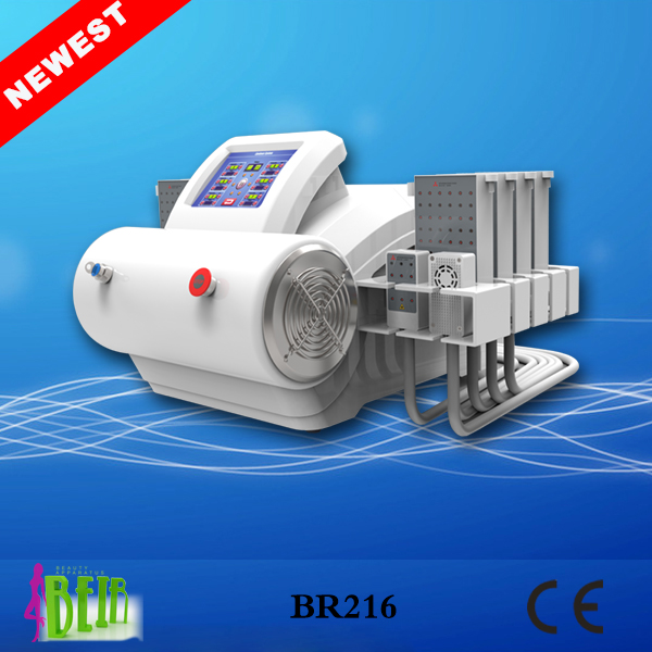 Super Smart Lipolysis Fat Removal Lipo Laser Machine/4 wave lenght Diode Laser lipo Beauty Apparatus