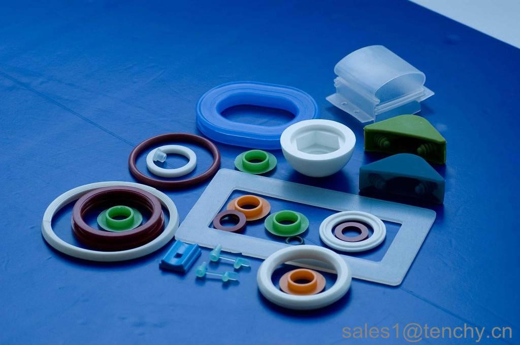 Silicone round sealing gasket