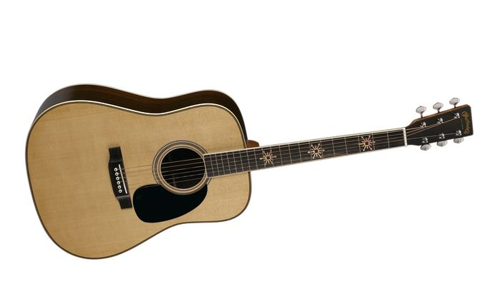 Martin Custom D-35 Seth Avett Signature Edition Dreadnought Acoustic-Electric Guitar Natural