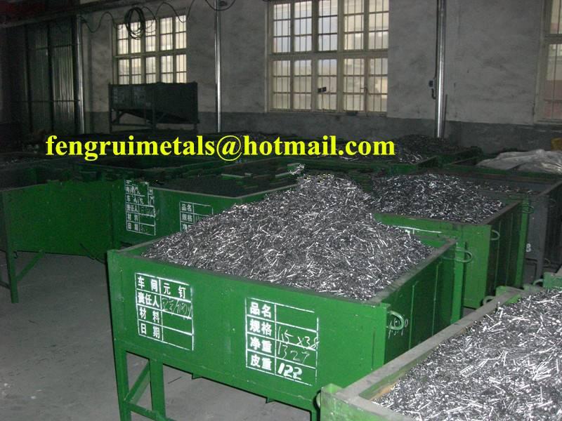 Shandong Linyi factory sale cheap iron panel pins