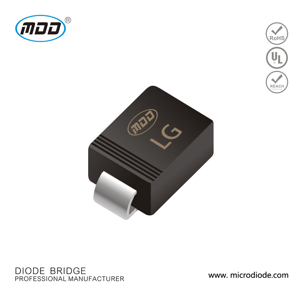 SMBJ5.0A -SMBJ170CA TVS diode Hot SMBJ Rectifier diode 2A 50V with ROSH,REACH, ISO9001