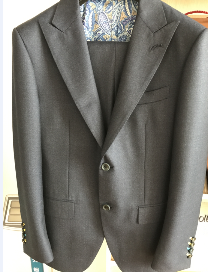 full hand made full canvas suits
